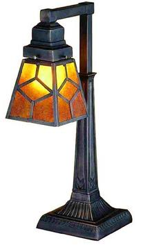 Meyda Tiffany Mica Diamond Mission Table Lamp