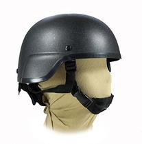 MICH 2000 Black Swat Police Airsoft Paintball Helmet Kevlar