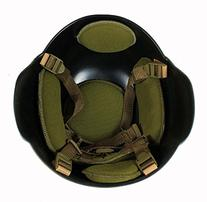 MICH 2000 Coyote Tan Army Airsoft Paintball Helmet Kevlar