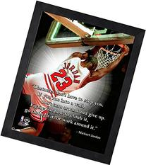 Michael Jordan Chicago Bulls NBA ProQuotes Photo  Framed