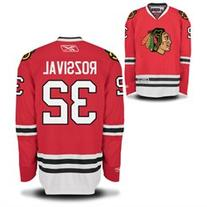 Michal Rozsival Chicago Blackhawks Home Red Youth Premier