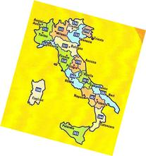 MIchelin Local Road Map 359 : Umbria - Marche  scale 1/200,