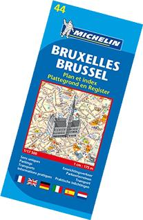 Michelin Map Brussels #44
