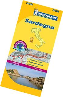 Michelin Map Italy: Sardegna 366