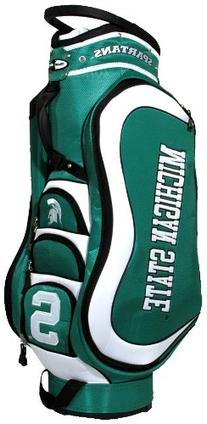 Michigan State Spartans Official NCAA Medalist Cart Golf Bag by Team Golf