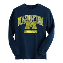 Michigan Wolverines Adidas NCAA Retro Fit Long Sleeve