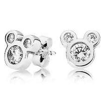 Pandora Mickey Cz Stud Earrings 290577cz
