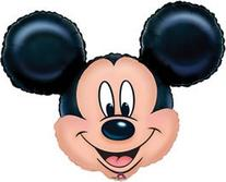 "BirthdayExpress Disney Mickey Mouse Head Jumbo 27"" Foil"