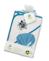 Mickey Mouse Hooded Towel Gift Set by Disney