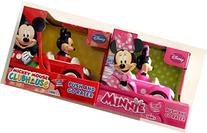 Disney Mickey Mouse and Minnie Mouse Push and Go Racer 2-Car