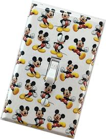 Mickey Mouse Decorative Light Switch Cover Wall Plate