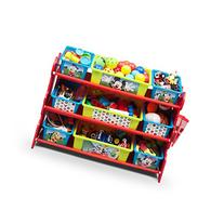 Delta Children Mickey Mouse 10 Piece Toy Organizer Set