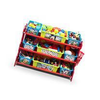 Delta Children Mickey Mouse 10 Piece Toy Organizer Set