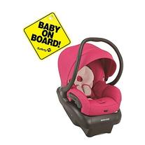 Maxi-Cosi Mico 30 Infant Car Seat - Bright Rose With Baby On