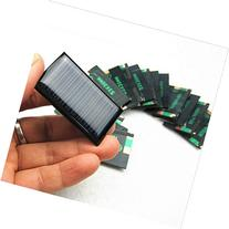 4 PCS -5V 30mA 53X30mm Micro Mini Power Solar Cells For