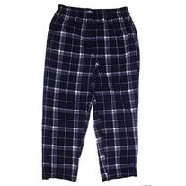 Jockey Men's Micro Plush Sleep Pant, Navy Plaid, Medium