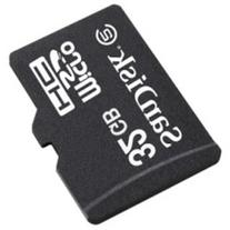 SanDisk 32GB Micro SDHC Flash Memory Card Model SDSDQM-032G-