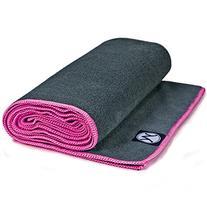 Youphoria Hot Yoga Towel - Non-Slip Yoga Mat Towel - Perfect