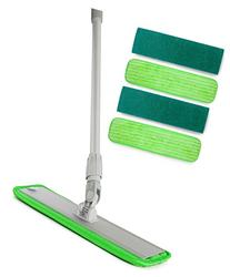 Microfiber Mop Hardwood Floor Cleaning - Washable Pads