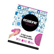 Ecozone - 2 High Density Microfibre Cloths - 20g