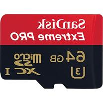 Sandisk Extreme Pro 64 GB MICROSD Extended Capacity - 96-