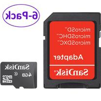 SanDisk microSDHC 16GB with SD Adapter 3