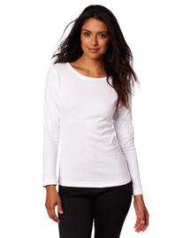 Duofold Women's Mid Weight Wicking Thermal Shirt, White, X