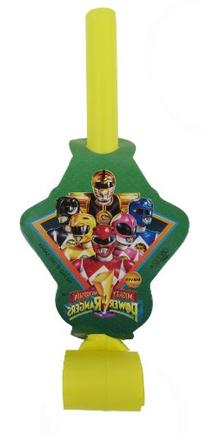 Mighty Morphin Power Rangers 8 Blowouts - Classic Design
