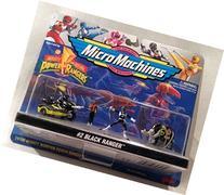 Mighty Morphin Power Rangers Black Ranger Micro Machines