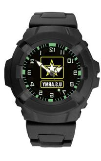 Mens Military Watch - Army With Quartz Movement, Black by
