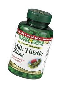 Nature's Bounty Milk Thistle 250mg Herbal Suppletment