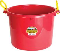 MILLER CO Muck Tub, 70 quart, Red