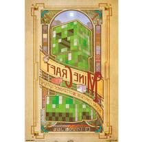 "Trends International Minecraft Poster, 22"" x 34"