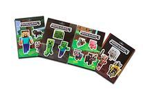 JINX Minecraft Sticker Party Pack , 17 Stickers