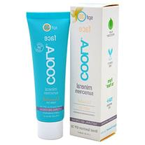COOLA Mineral Suncare, Unscented Matte Tint Face Sunscreen,