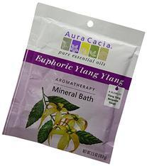 Aura Cacia Bath Mnrl Euphoric Ylang Ylang