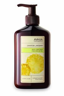 AHAVA Mineral Botanic Velvet Body Lotion, Tropical Pineapple