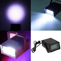 Mini 24 LED DJ Strobe Light Flash Light Club Stage Lighting
