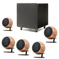 Orb Audio Mini 5.1 Home Theater Speaker System in Hand