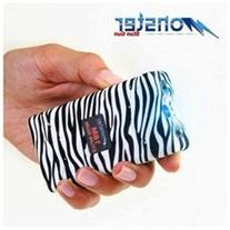Mini Stun Gun - Monster 18,000.000 Volt Black Zebra Stun Gun