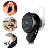 Abco Tech Mini Bluetooth Headphones- Earpiece - with Hands