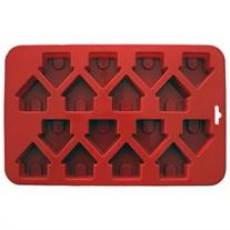 Mini Dog Houses Silicone Cake Pan-9X5.5 16 Cavity