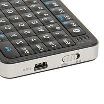Mini i6 2-in-1 72-Key Bluetooth Keyboard w/ Trackpad +