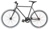 Retrospec Mini Mantra Fixie Bicycle with Sealed Bearing Hubs and Headlamp, Graphite, 57cm/Large