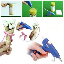CCbetter Mini Hot Melt Glue Gun with 25pcs Glue Sticks High