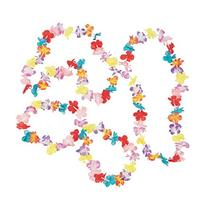 Mini Multi Flower Leis
