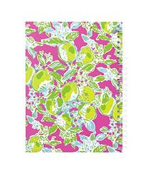 Lilly Pulitzer Mini Notebook, Pink Lemonade