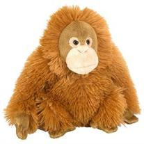 Mini Female Orangutan Cuddlekin 8 by Wild Republic