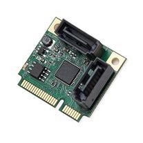 IO Crest Mini PCIe 2 Port SATA III RAID Controller