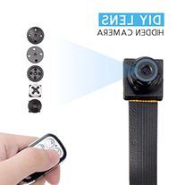 FREDI HD 1080P/720P Mini Super Small Portable DIY Hidden Spy